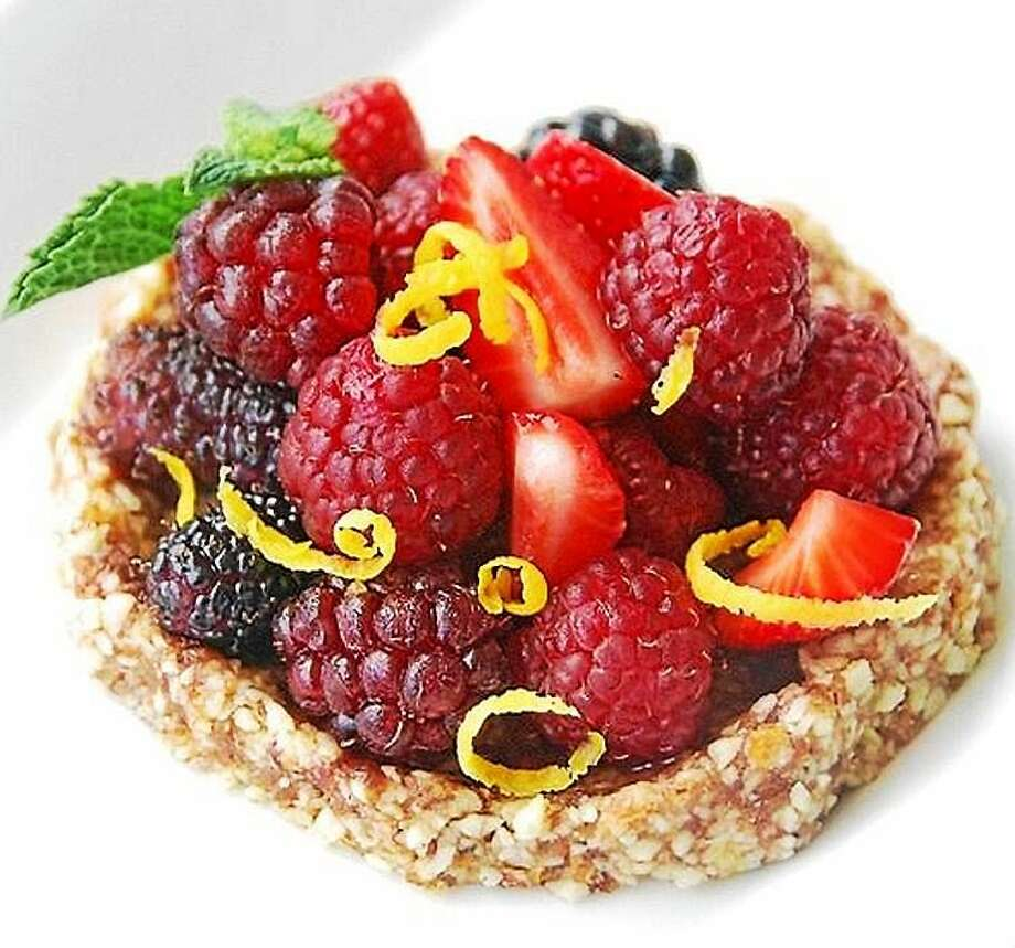 """""""Nude"""" Berry Tartlets Photo: Susan Russo  — Oneforthetable.com"""