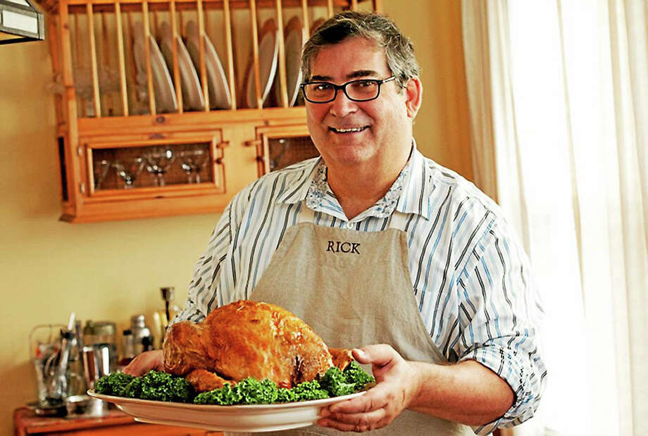 """Cookbook author Rick Rodgers lends a hand with the holiday cooking with """"Thanksgiving 101."""" Photo: Tod Axelrod   / © 2011 Ted Axelrod"""