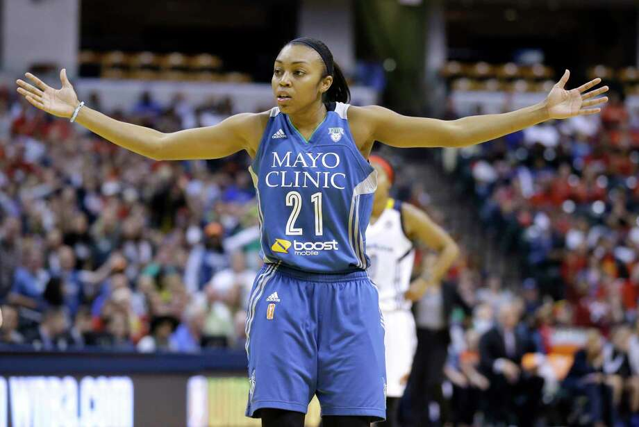 Renee Montgomery and the Minnesota Lynx will take on the Indiana Fever in Game 5 of the WNBA Finals. Photo: Michael Conroy — The Associated Press   / AP