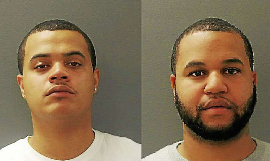 L to R: Deandre Wilkins and Martin Swain Photo: Journal Register Co.