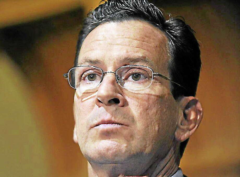 Gov. Dannel P. Malloy Photo: Associated Press File Photo   / AP2010