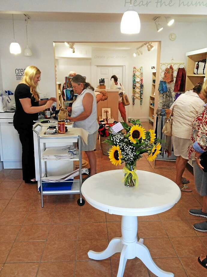 Creations gift shop opened Thursday in Madison. Photo: Tim Rizzo — New Haven Register