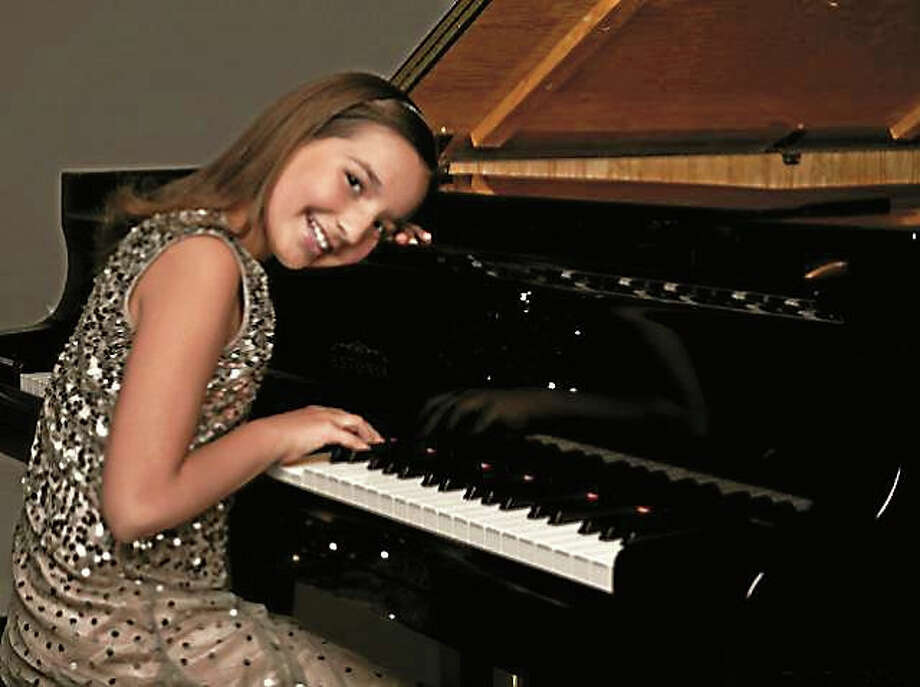Contributed  Emily Bear has already recorded with Quincy Jones and played at Carnegie Hall and the White House, as well as New Haven's Shubert Theatre with the New Haven Symphony Orchestra. Photo: Journal Register Co.