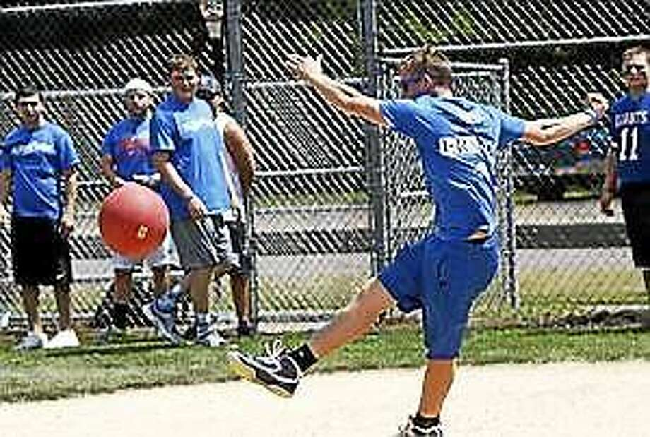 (Contributed photo) Kickball fun Photo: Journal Register Co.