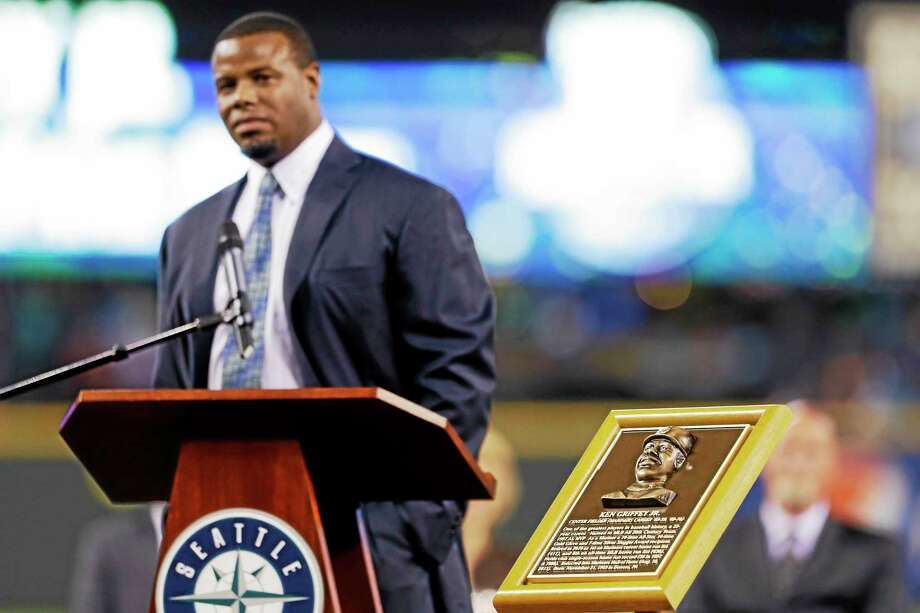 Former Mariners' outfielder Ken Griffey Jr. is among 15 newcomers on this year's Hall of Fame ballot. Photo: The Associated Press File Photo   / AP