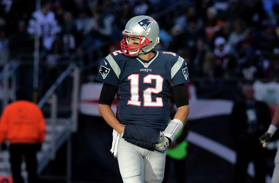 New England Patriots quarterback Tom Brady. Photo: Charles Krupa — The Associated Press   / AP