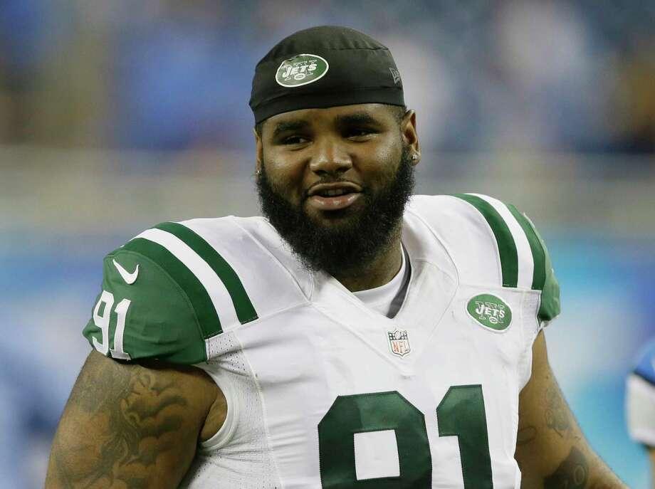 New York Jets defensive end Sheldon Richardson. Photo: The Associated Press File Photo   / FR38952 AP