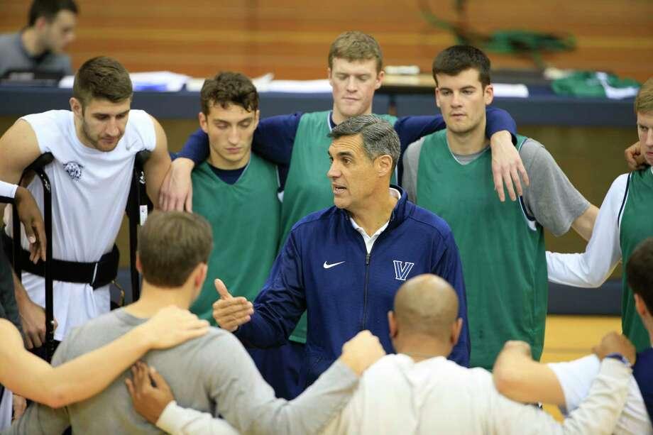 Villanova head coach Jay Wright during the NCAA college basketball team's media day on Oct. 28, 2015, in Villanova, Pa. Photo: AP Photo/Matt Rourke   / AP
