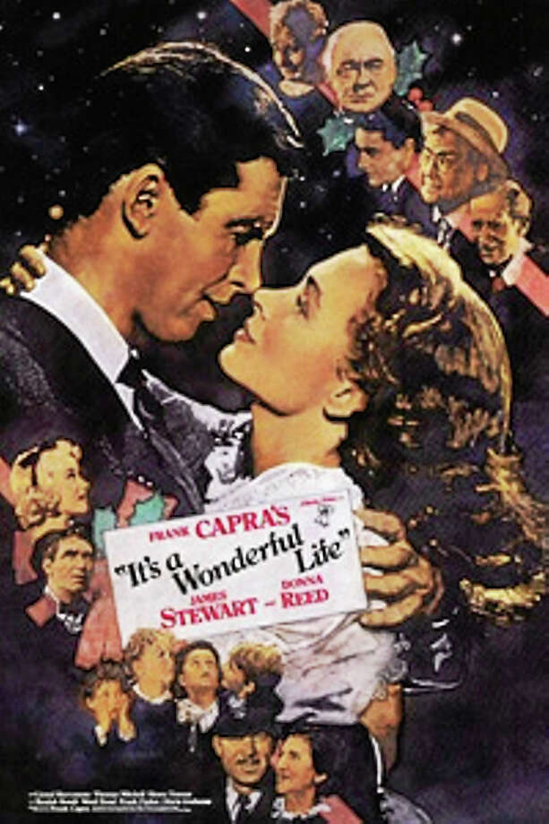 """Connecticut Food Bank benefits from this screening of """"It's a Wonderful Life."""" Photo: Contributed"""
