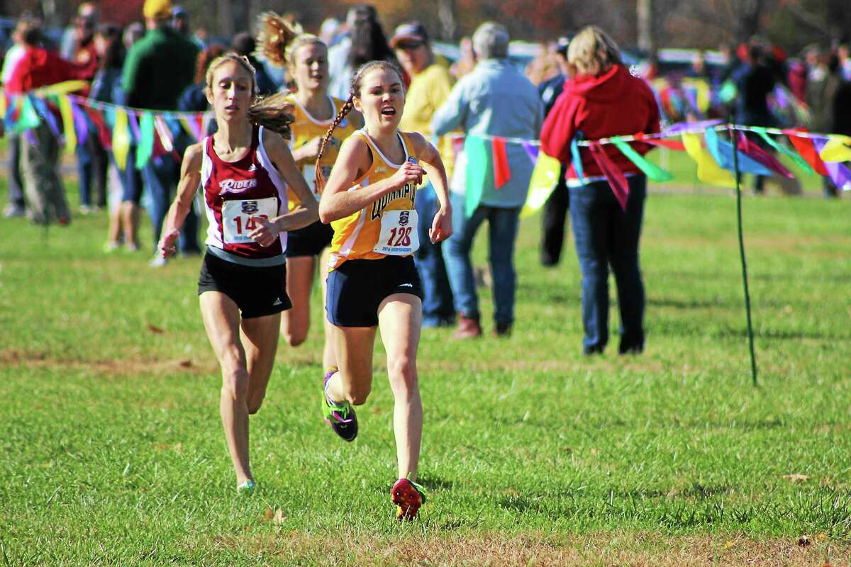 Quinnipiac's Niamh Ashe finished second overall at the MAAC championships to help lead the Bobcats to the team title.