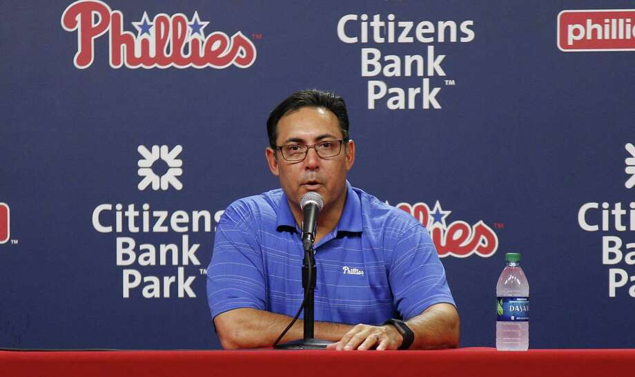 The Philadelphia Phillies have fired general manager Ruben Amaro Jr. Photo: Chris Szagola — The Associated Press File Photo   / FR170982 AP