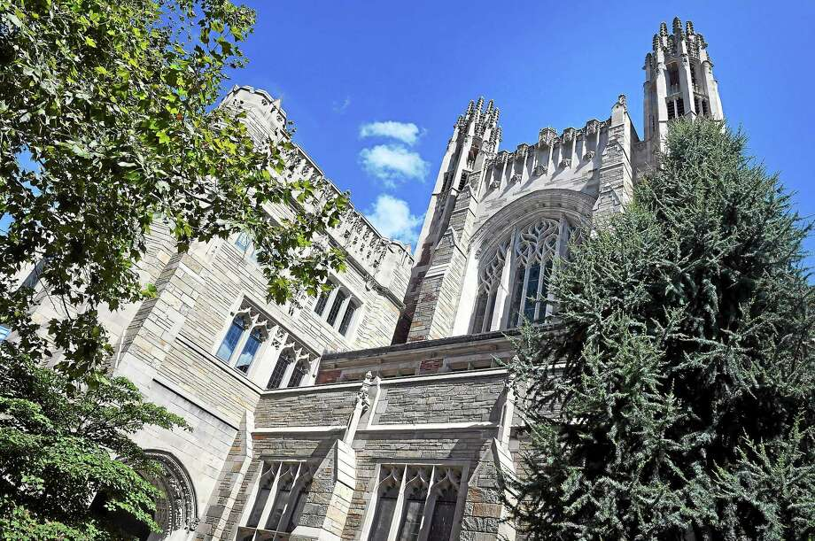 The Yale Law School in New Haven photographed on 8/15/2014. Photo: Arnold Gold -- New Haven Register