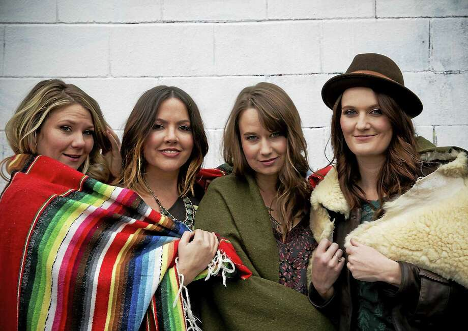 Grammy-nominated Della Mae headlines this year's CT Folk Festival and Green Expo Saturday at Edgerton Park in New Haven. Photo: Crackerfarm