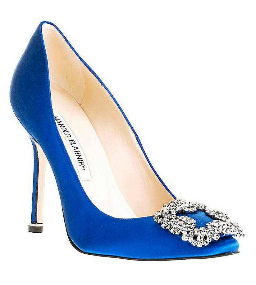 Manolo Blahnik Shoe Sale Saturday in Bantam, Conn., benefits UConn students. Photo: Contributed