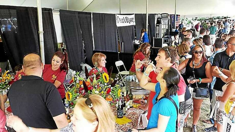 Participating winemakers include Bishop's Orchards, Sunset Meadow Vineyards, Jonathan Edwards Winery, Jones Winery, DiGrazia Vineyards, Paradise Hills Vineyard and Sharpe Hill Vineyards. Photo: Bishop's Orchards
