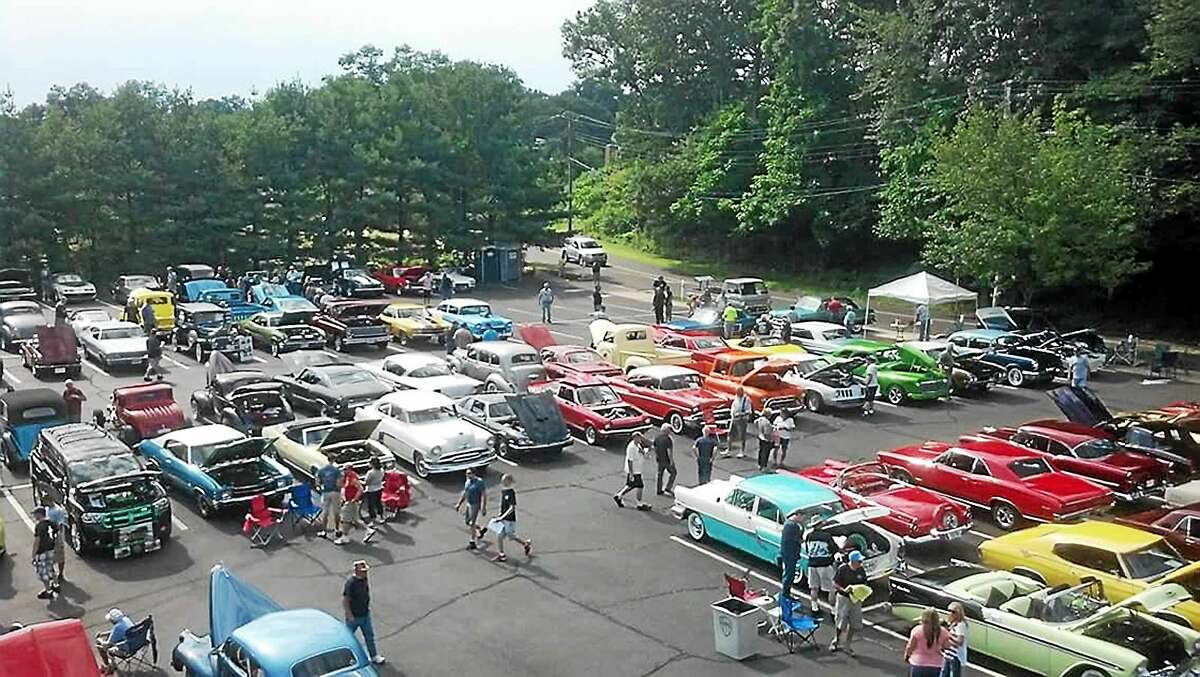 The scene last year at the West Haven Italian American Civic Organization Car & Truck Show.