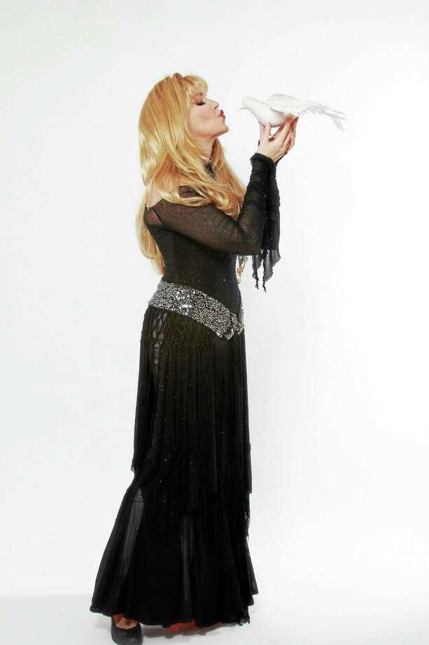 """Dorothy Bishop as Stevie Nicks in """"Dozen Divas."""" Photo: Contributed"""