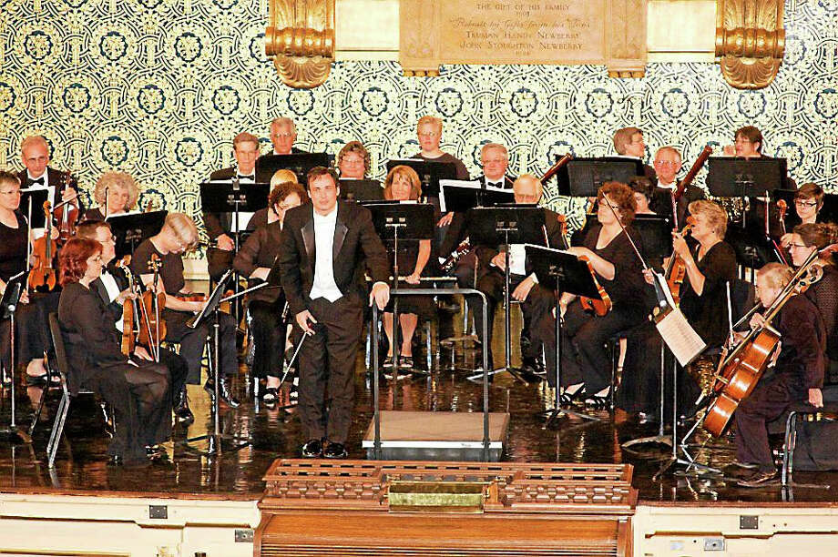 Civic Orchestra of New Haven performs in Battell Chapel at the corner of College and Elm. Photo: Contributed