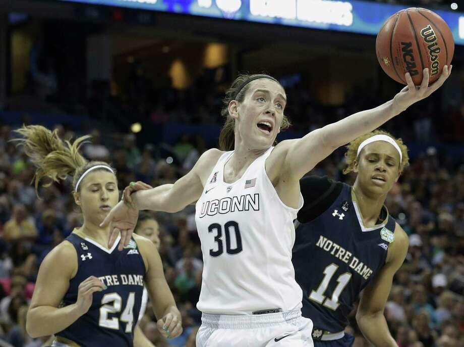 UConn's Breanna Stewart. Photo: The Associated Press File Photo   / AP