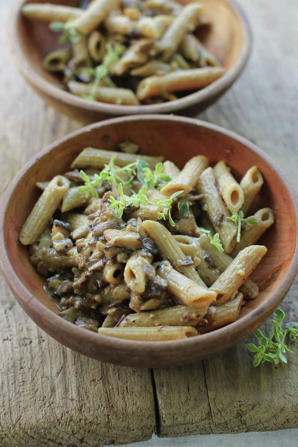 Mushroom-Miso Pasta