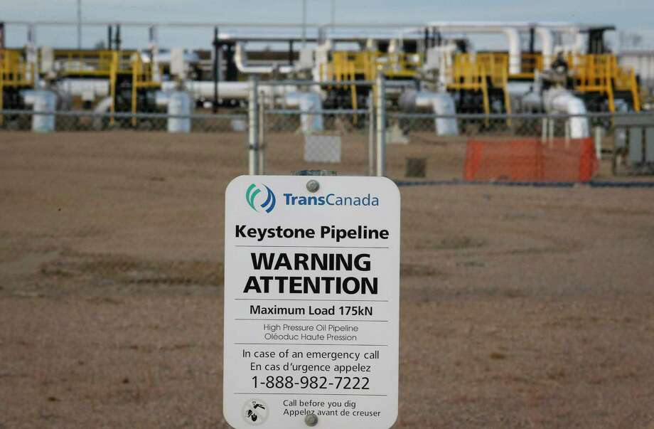 TransCanada's Keystone pipeline facilities are seen in Hardisty, Alberta, Canada, on Friday. Following the Obama administration's rejection of the Keystone XL pipeline, the oil industry faces the tricky task of making sure the crude oil targeted for the pipeline still gets where it needs to go. Photo: The Canadian Press Via AP   / The Canadian Press