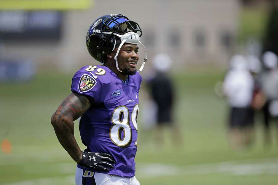 Five-time Pro Bowler Steve Smith announced Monday that he will walk away from the game after the second season of a three-year contract with the Baltimore Ravens. Photo: Patrick Semansky — The Associated Press   / AP