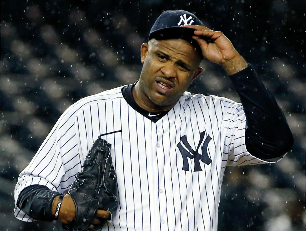 """CC Sabathia says he had """"no other option"""" than to leave the New York Yankees for treatment for alcoholism."""