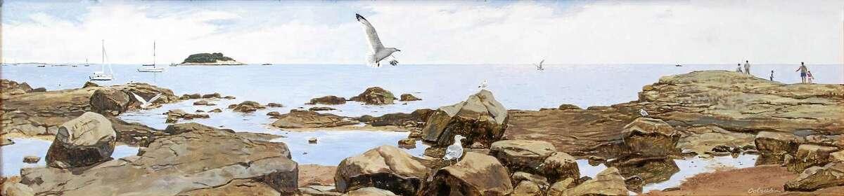 "Bill Colrus' ""On the Rocks"""