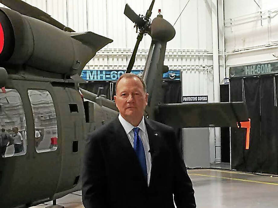 New Sikorsky Aircraft President Dan Schultz Photo: Luther Turmelle — New Haven Register