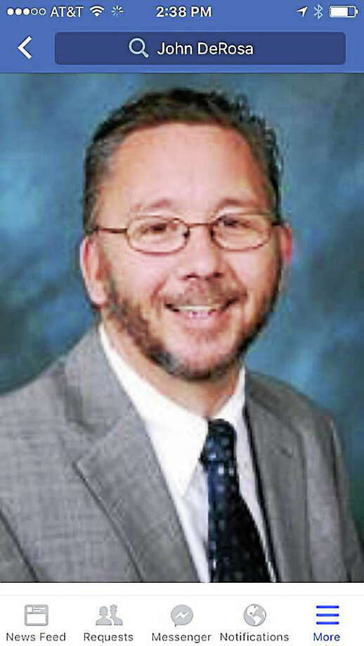 Milford Board of Education member John DeRosa. Photo: Journal Register Co.