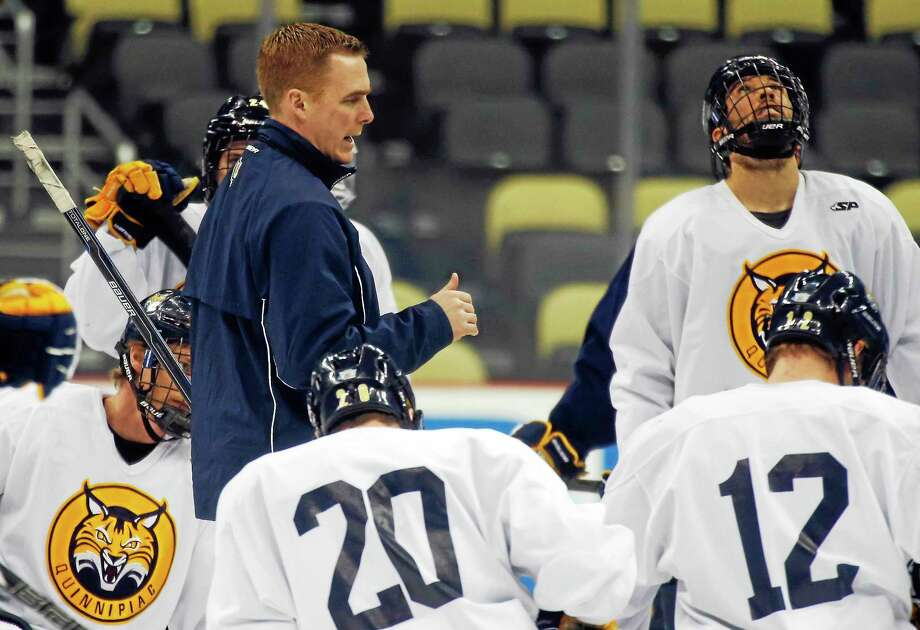 Quinnipiac coach Rand Pecknold has made a habit of replacing departed star players and keeping the Bobcats near the top of the standings. Photo: Keith Srakocic — The Associated Press File Photo   / AP