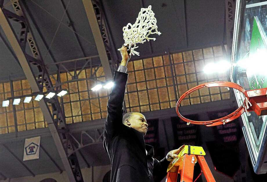 Last season Harvard and coach Tommy Amaker needed to win a one-game playoff to win the Ivy League and secure the league's automatic NCAA tournament berth. According to a report, Presidents of the Ivy League are on the verge of creating a postseason conference basketball tournament, perhaps as early as next season. Photo: The Associated Press File Photo   / FR168006 AP