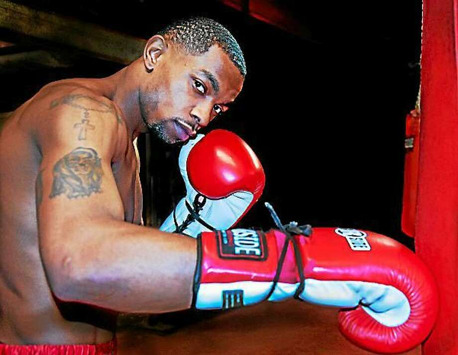 West Haven boxer Jimmy Williams was injured recently and will be out of the ring for a few months. Photo: Register File Photo