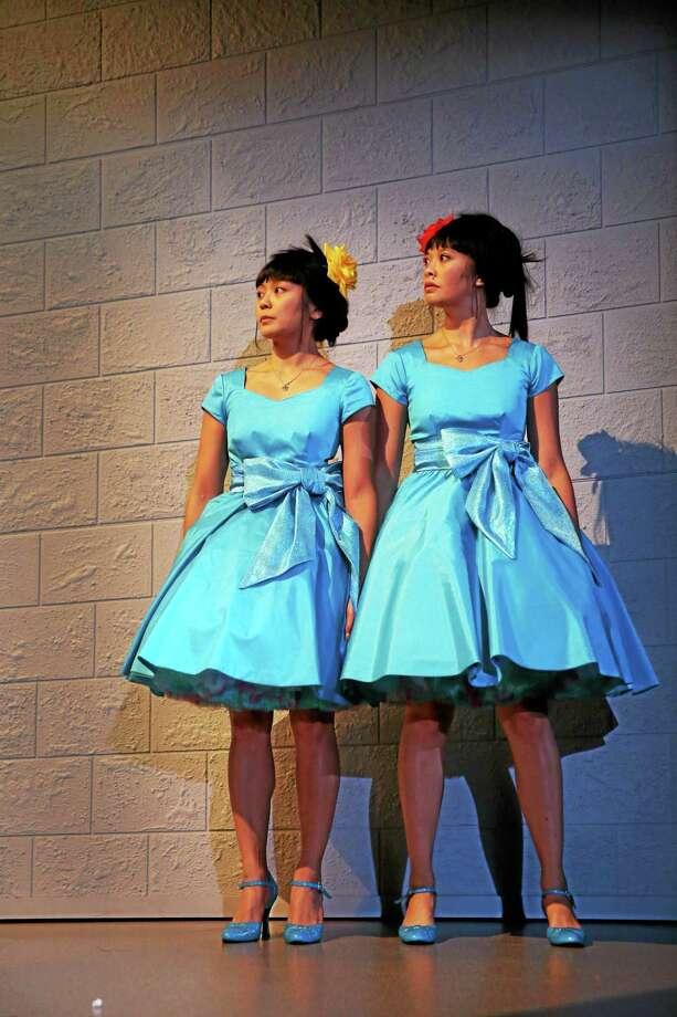 "Teresa Avia Lim, left, and Tiffany Villarin star in ""peerless"" by Jiehae Park and directed by Margot Bordelon. Photo: Joan Marcus   / ©2015 Joan Marcus?"