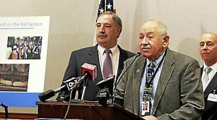 State Sen. Steven Cassano and state Rep. Jonathan Steinberg Photo: CHRISTINE STUART For CTNJ