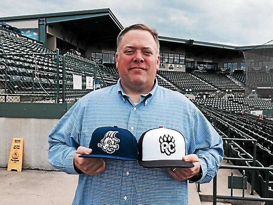 General manager Tim Restall has performed a balancing act this summer as the New Britain Rock Cats transition into the Hartford Yard Goats. Photo: David Borges — Register