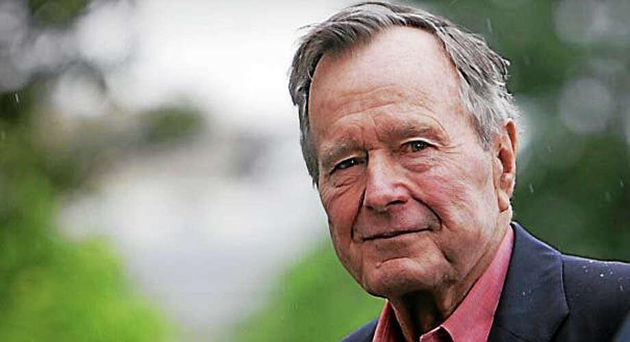 George H.W. Bush, the 41st president Photo: AP File Photo / AP2008