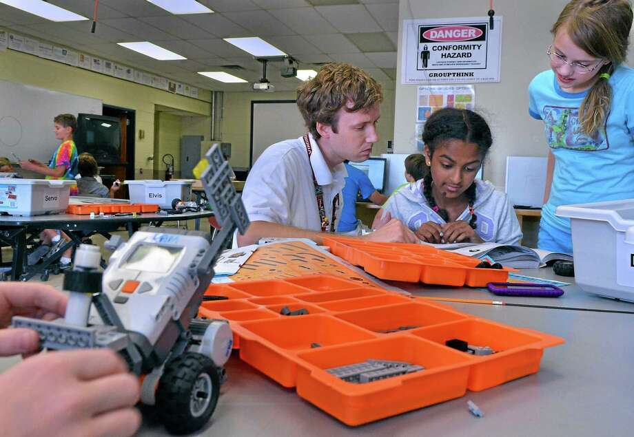According to some research, LEGOs can be a helpful tool for learning. Photo: Digital First Media File Photo