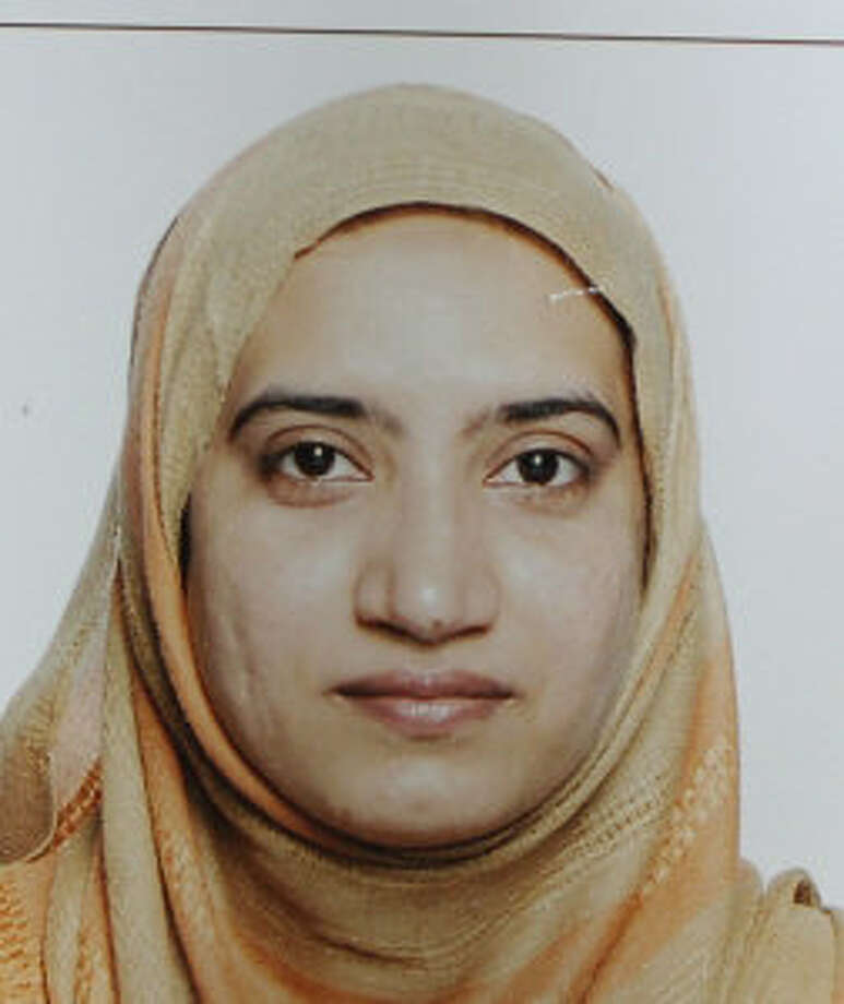 This undated photo provided by the FBI shows Tashfeen Malik. Malik and her husband, Syed Farook, died in a fierce gun battle with authorities several hours after their commando-style assault on a gathering of Farook's colleagues from San Bernardino, Calif., County's health department Wednesday, Dec. 2, 2015. Photo: FBI Via AP / FBI