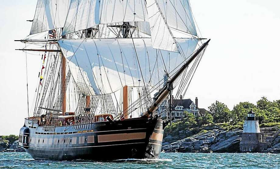 The SSV Oliver Hazard Perry from Rhode Island will be in port. Photo: Contributed
