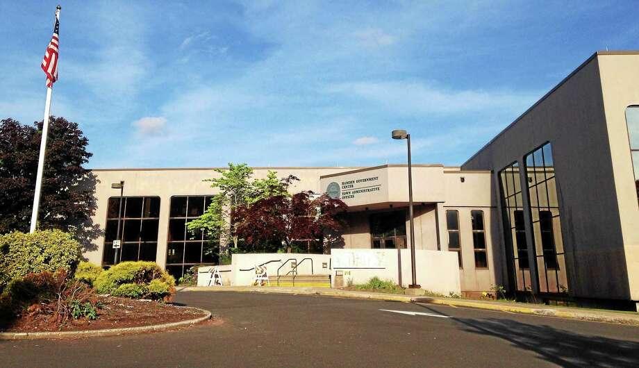 Hamden Government Center Photo: Journal Register Co.