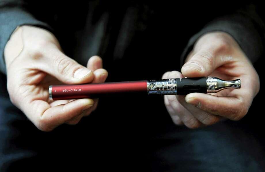An e-cigarette. Photo: Associated Press File Photo   / AP