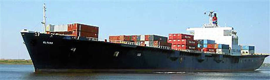 In this undated photo provided by TOTE Maritime shows the cargo ship, El Faro. The El Faro departed Jacksonville, Fla., on Sept. 29, 2015 when Joaquin was still a tropical storm. The ship had 33 crew members, and it was headed to Puerto Rico when it encountered heavy seas when Joaquin became a hurricane. The U.S. Coast Guard announced Monday, Oct. 5, 2015 that the El Faro has been lost. They are still searching for survivors. (TOTE Maritime via AP) Photo: AP / TOTE Maritime