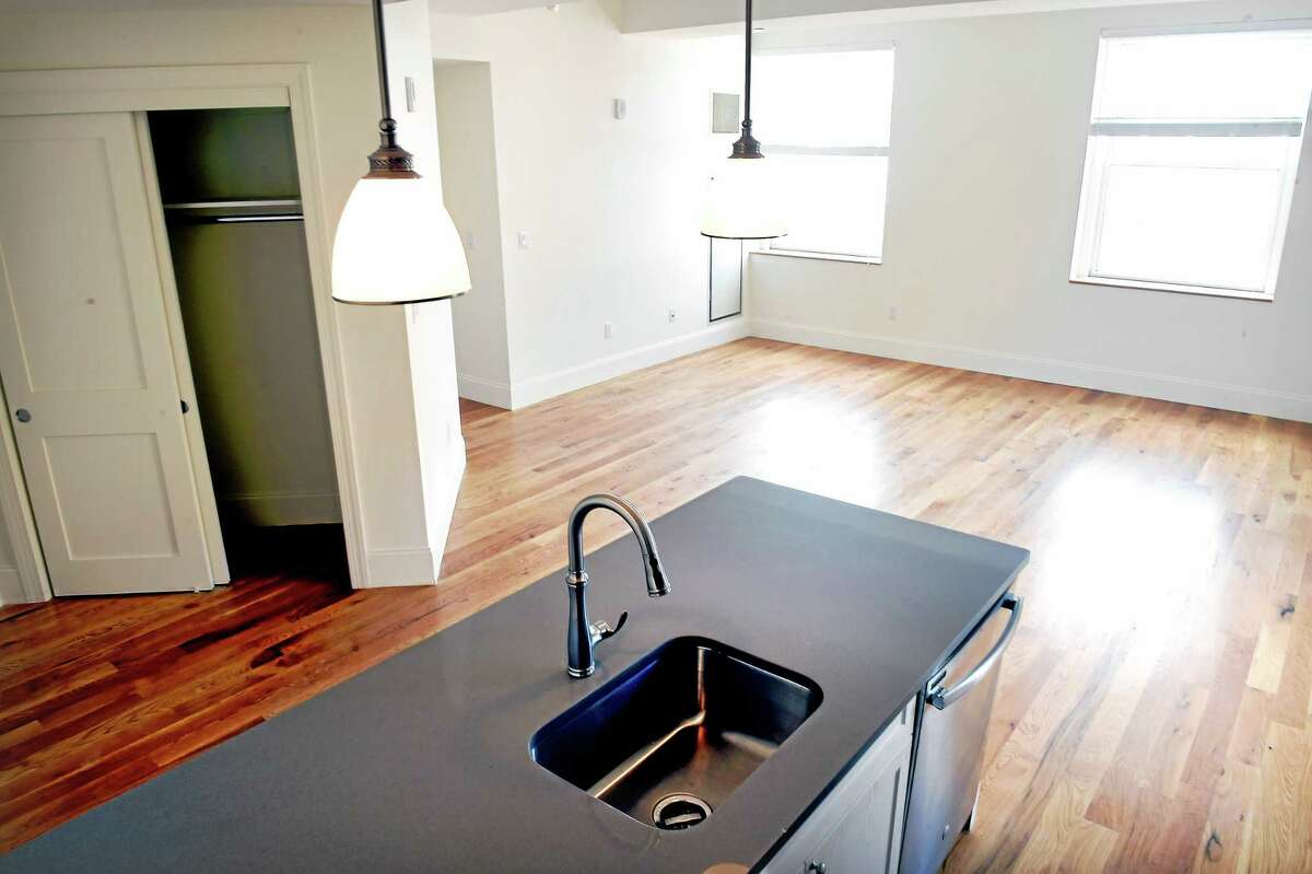 (Arnold Gold-New Haven Register) A one bedroom apartment in The Union in New Haven.
