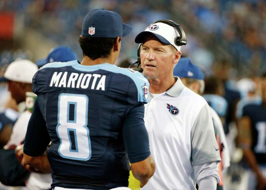 The Tennessee Titans fired head coach Ken Whisenhunt on Tuesday. Photo: Weston Kenney — The Associated Press File Photo   / AP