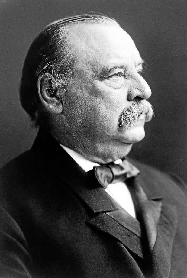 President Grover Cleveland Photo: Journal Register Co.