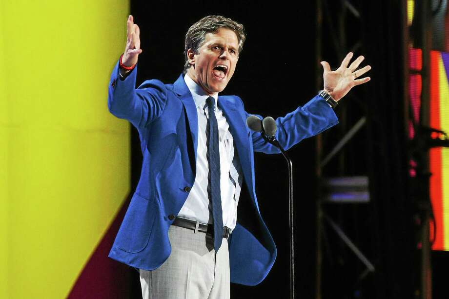 Tim Shriver speaks at the opening ceremony of the Special Olympics World Games at Los Angeles Memorial Coliseum on July 25 in Los Angeles. Photo: Rich Fury — The Associated Press File Photo   / Invision
