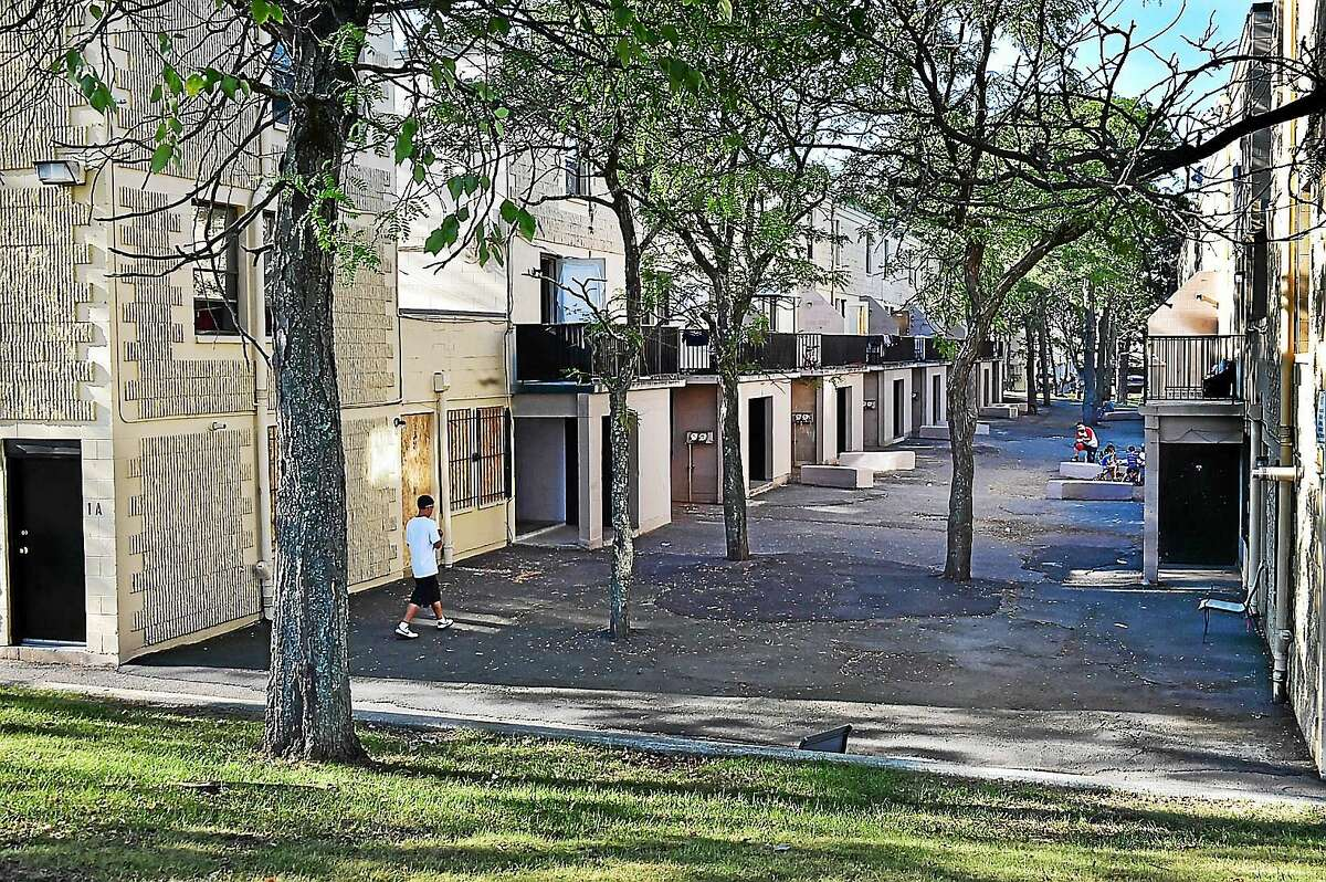 The Church Street South housing complex in New Haven.