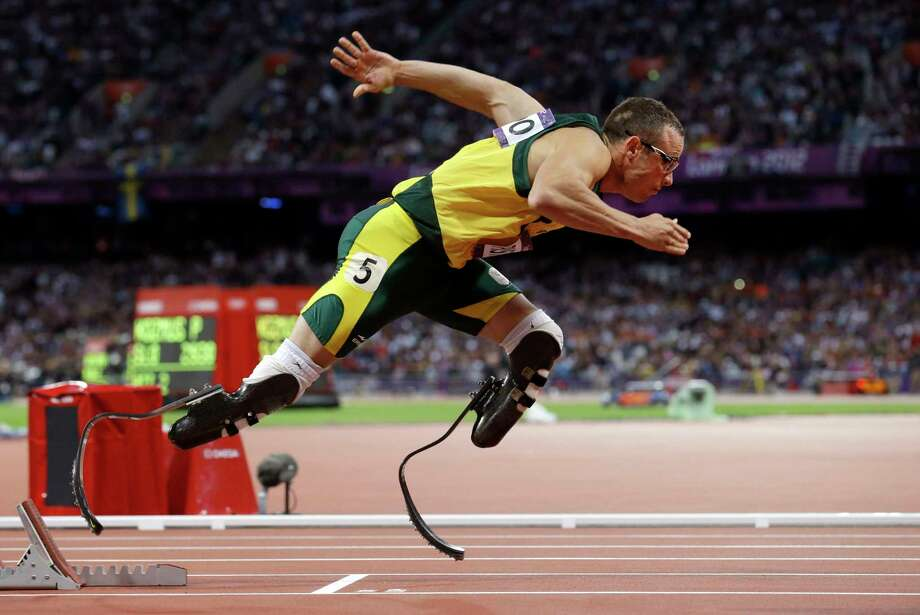 A South African appeals court on Thursday convicted Oscar Pistorius of murder, overturning a lower court's conviction of the double-amputee Olympian on the lesser charge of manslaughter for shooting girlfriend Reeva Steenkamp to death in 2013. Photo: Anja Niedringhaus — The Associated Press File Photo   / AP