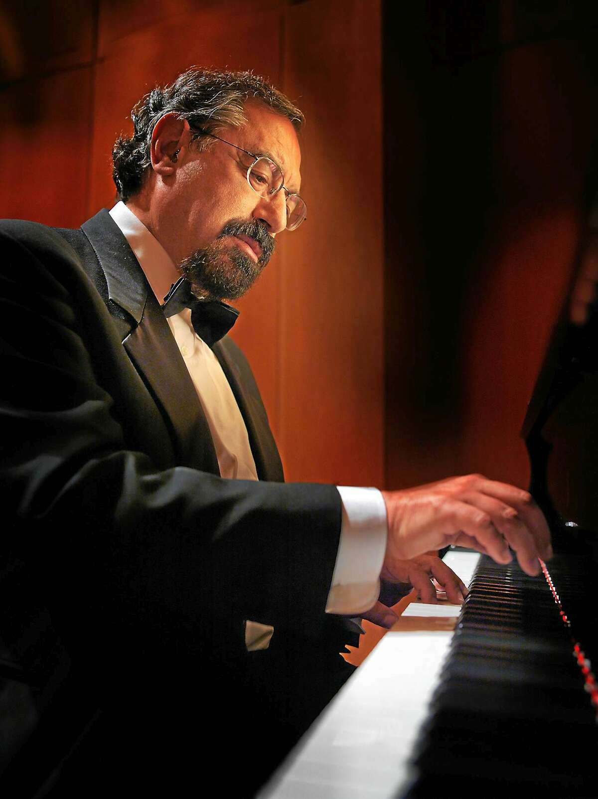 Boris Berman, who is on the piano faculty at Yale, performs Friday night.